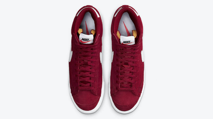 Nike Blazer Mid 77 Suede Team Red Middle
