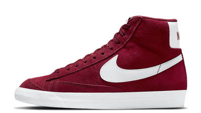 Nike Blazer Mid 77 Suede Team Red