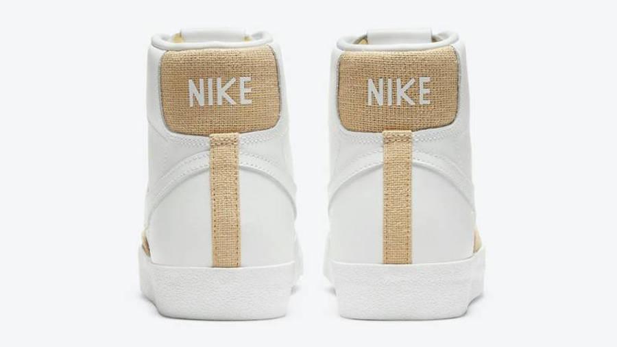 Nike Blazer Mid Burlap White Back