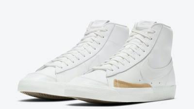 Nike Blazer Mid Burlap White Front