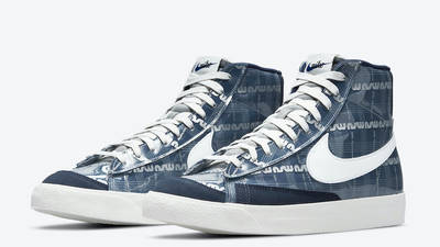 Nike Blazer Mid Midnight Navy Front