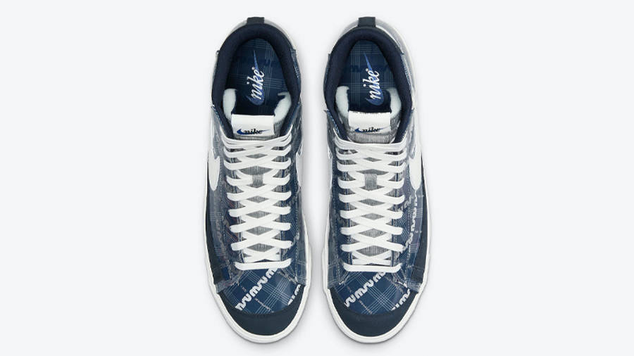 Nike Blazer Mid Midnight Navy Middle
