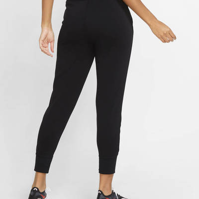 Nike Dri-FIT Get Fit Graphic Training Trousers Black Back