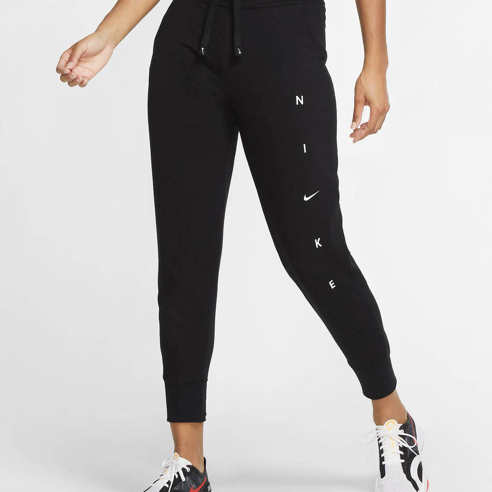 Nike Dri-FIT Get Fit Graphic Training Trousers Black