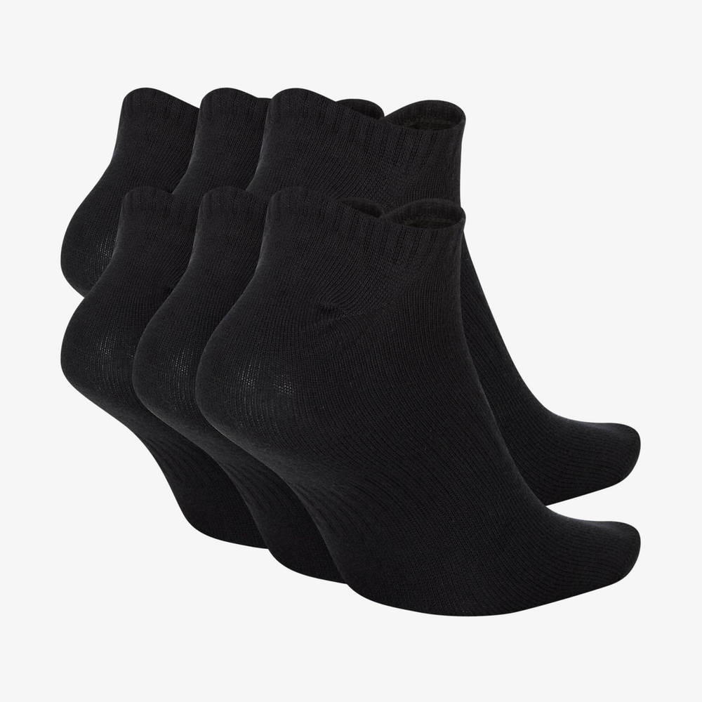 Nike Everyday Lightweight Training No-Show Socks (6 Pairs) Back