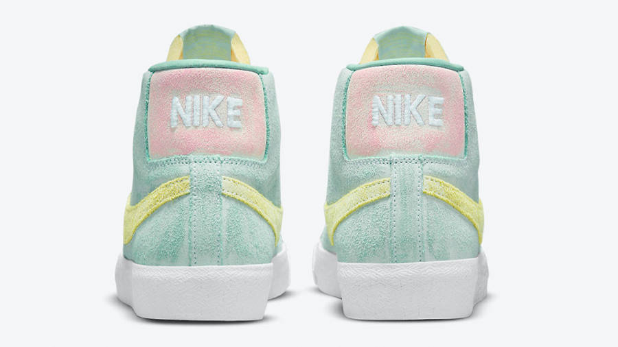Nike SB Blazer Mid Faded Light Dew Back