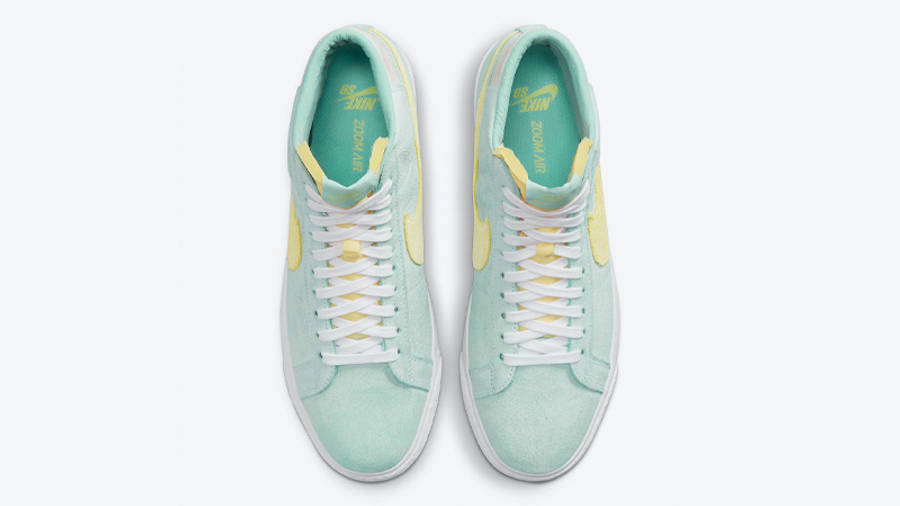 Nike SB Blazer Mid Faded Light Dew Middle
