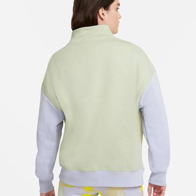 Nike Sportswear 14-Zip Fleece Sweatshirt DM3835-371 Back