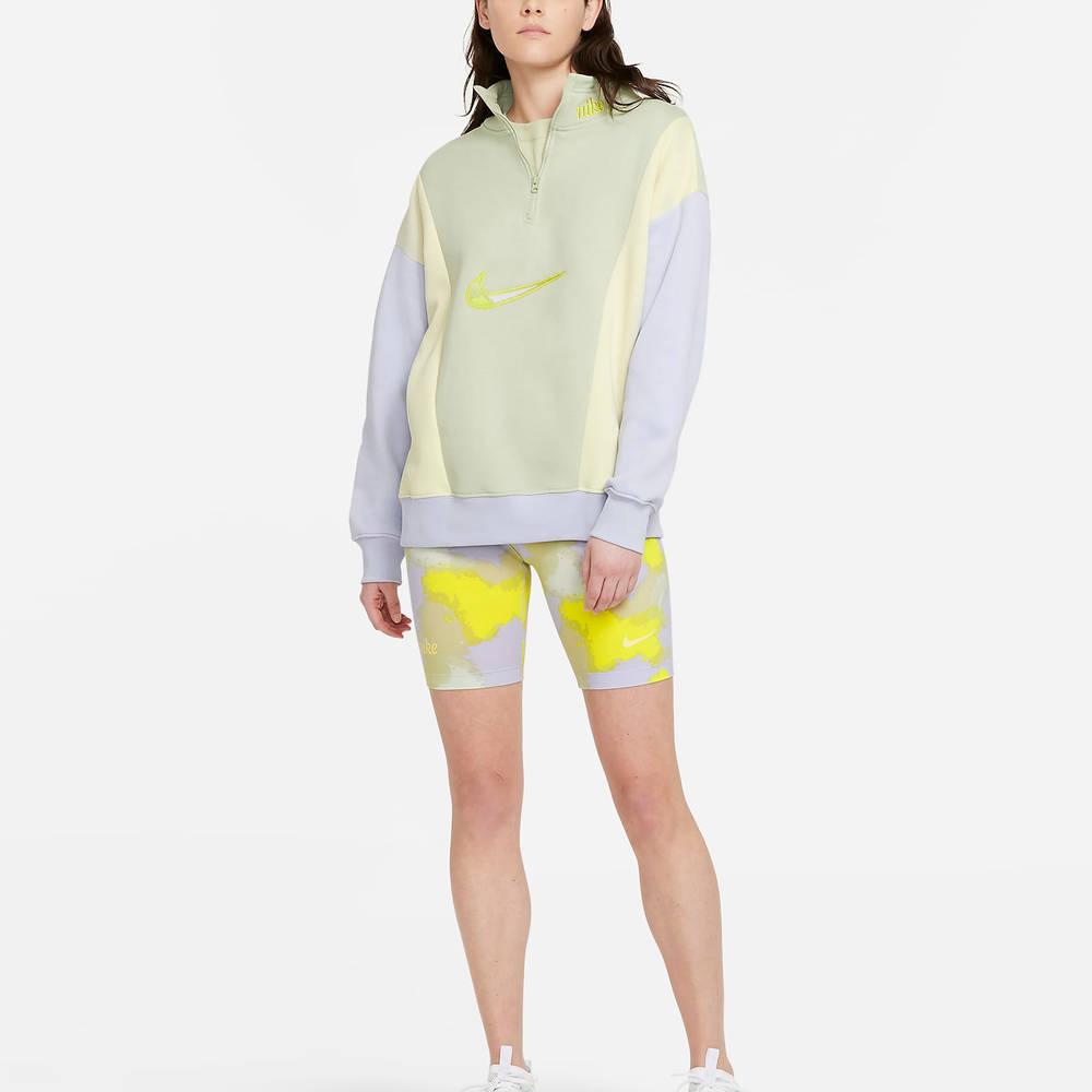 Nike Sportswear 14-Zip Fleece Sweatshirt DM3835-371 Full
