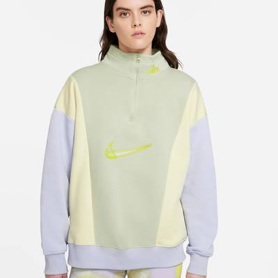 Nike Sportswear 14-Zip Fleece Sweatshirt DM3835-371