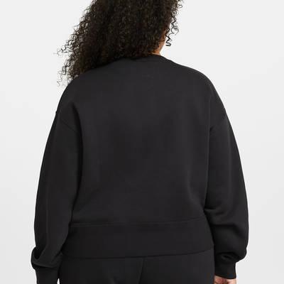 Nike Sportswear Essential Crew Sweatshirt (Plus size) DD2911-010 Back