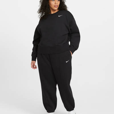 Nike Sportswear Essential Crew Sweatshirt (Plus size) DD2911-010 Full