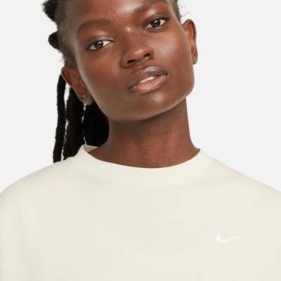 Nike Sportswear Essential Fleece Crew Sweatshirt CK0168-113 Detail