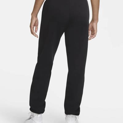Nike Sportswear Rhinestone Fleece Trousers Black Back