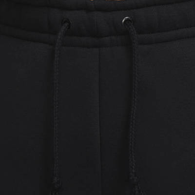 Nike Sportswear Rhinestone Fleece Trousers Black Elastic