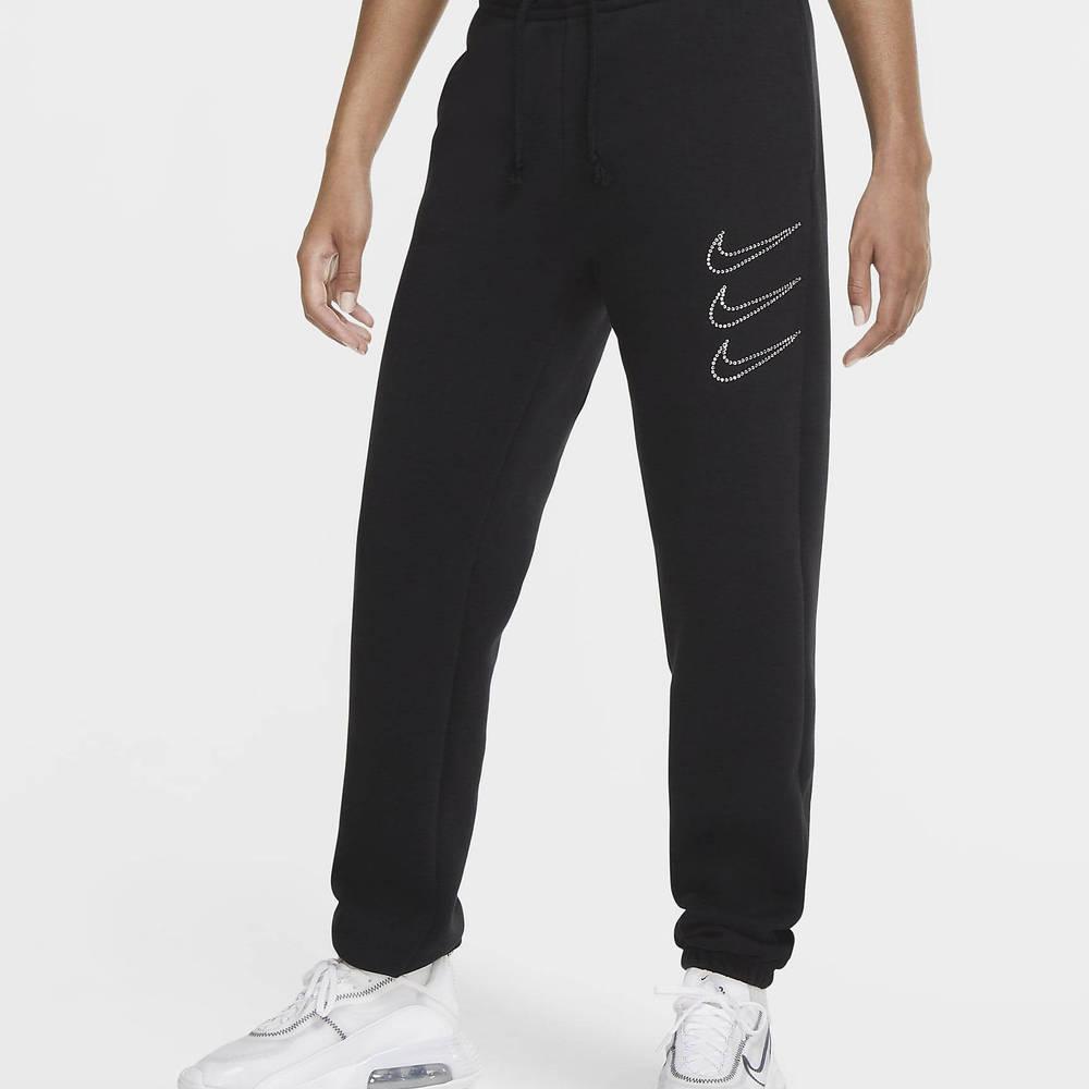 Nike Sportswear Rhinestone Fleece Trousers Black