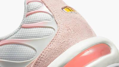 Nike TN Air Max Plus White Pink Closeup