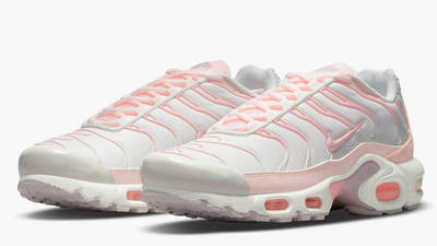 Nike TN Air Max Plus White Pink Front