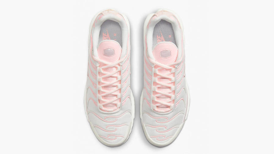 Nike TN Air Max Plus White Pink Middle