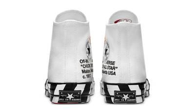 Off-White x Converse Chuck 70 Stripe White Back