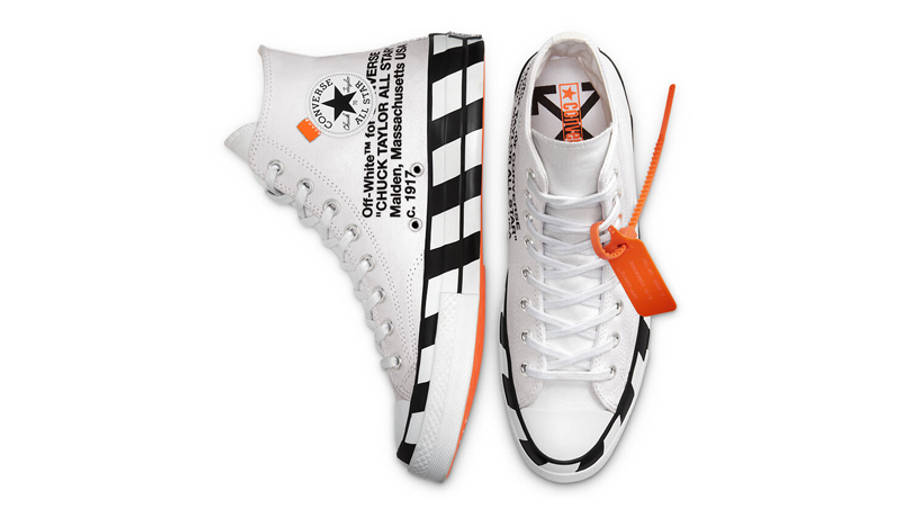 Off-White x Converse Chuck 70 Stripe White Middle