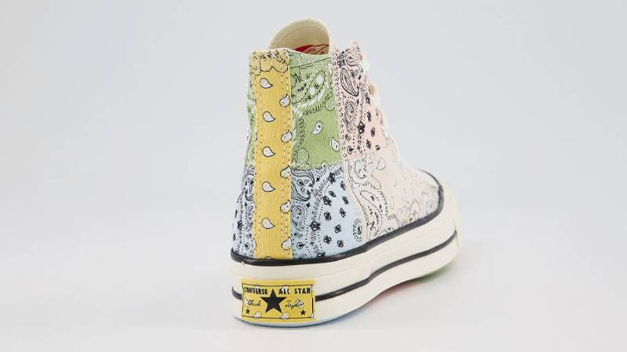 Offspring x Converse All Star Hi 70s Paisley Natural Ivory Back