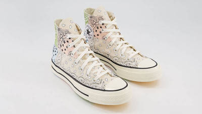 Offspring x Converse All Star Hi 70s Paisley Natural Ivory Front