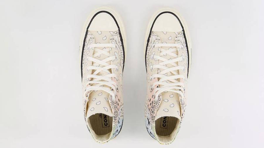 Offspring x Converse All Star Hi 70s Paisley Natural Ivory Middle