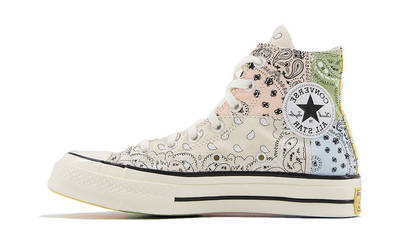 Offspring x Converse All Star Hi 70s Paisley Natural Ivory