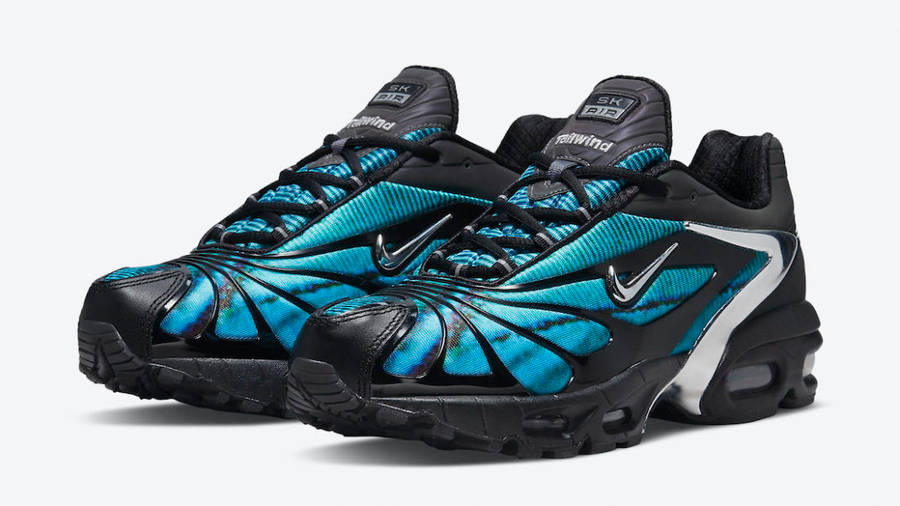 Skepta x Nike Air Max Tailwind 5 Bright Blue Front