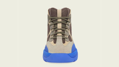 Yeezy Desert Boot Taupe Blue Front