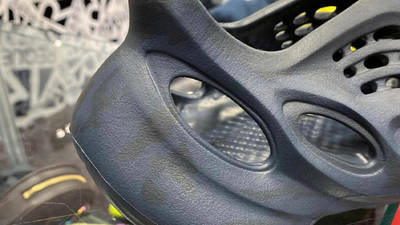 Yeezy Foam Runner Mineral Blue First Look Closeup