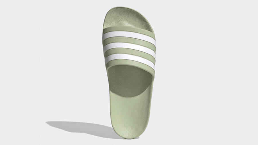adidas Adilette Aqua Slides Halo Green Middle