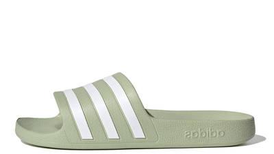 adidas Adilette Aqua Slides Halo Green