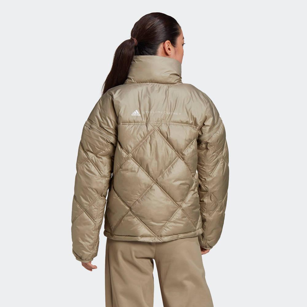 adidas by Stella McCartney Short Padded Jacket Back