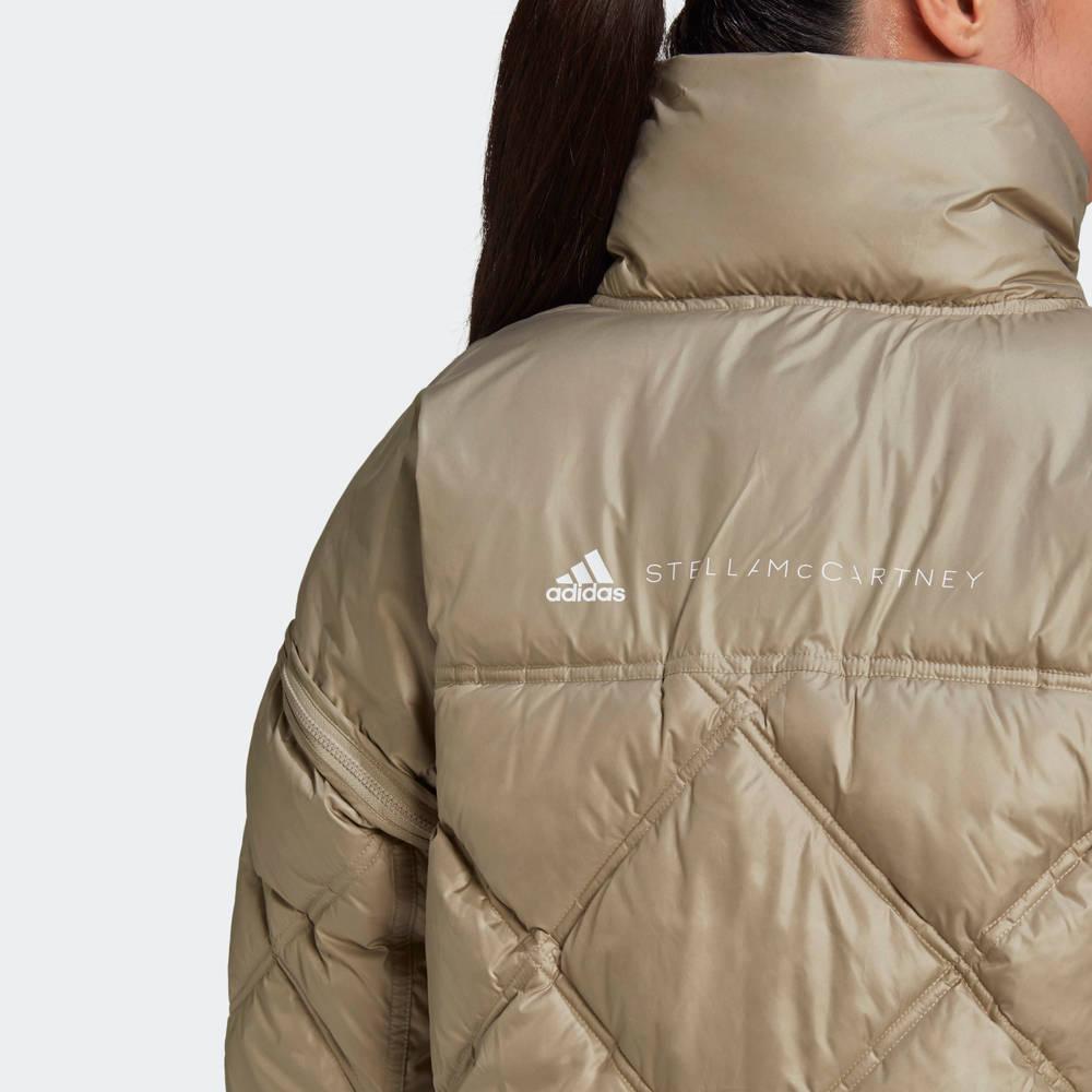 adidas by Stella McCartney Short Padded Jacket Detail 3