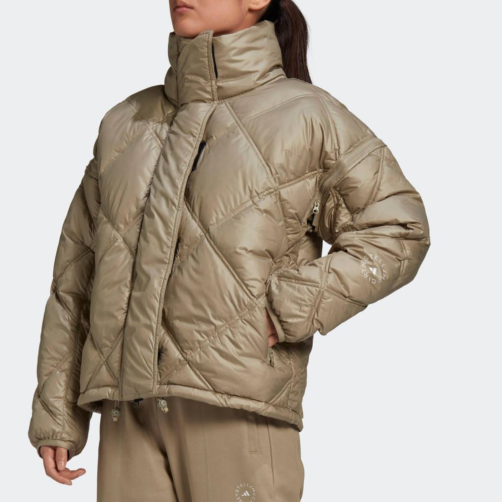 adidas by Stella McCartney Short Padded Jacket Detail