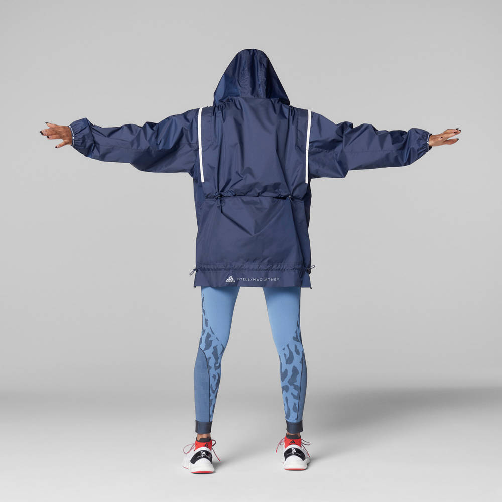 adidas by Stella McCartney True Pace Run WIND.RDY Jacket Back