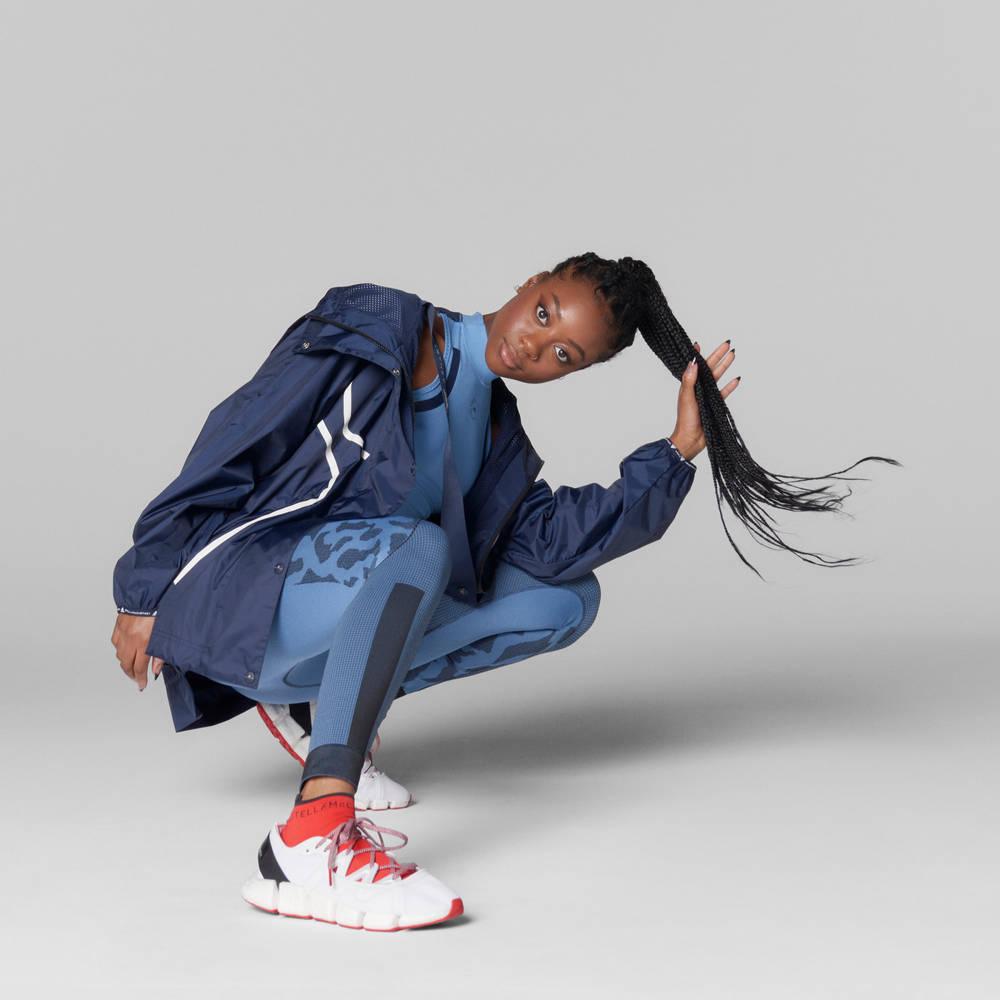 adidas by Stella McCartney True Pace Run WIND.RDY Jacket Full