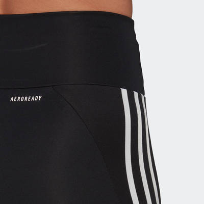 adidas Designed To Move High-Rise Short Sport Tights GL3971 Detail