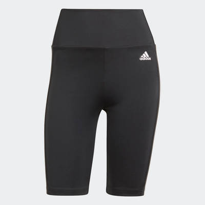 adidas Designed To Move High-Rise Short Sport Tights GL3971 Front