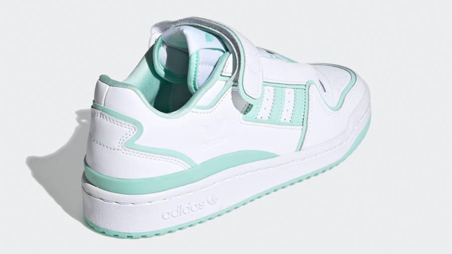 adidas Forum Plus White Clear Mint Back