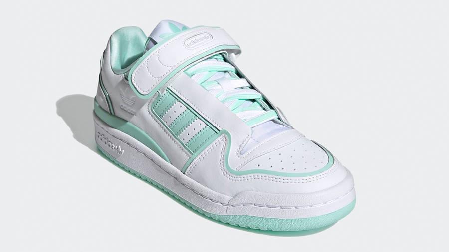 adidas Forum Plus White Clear Mint Front
