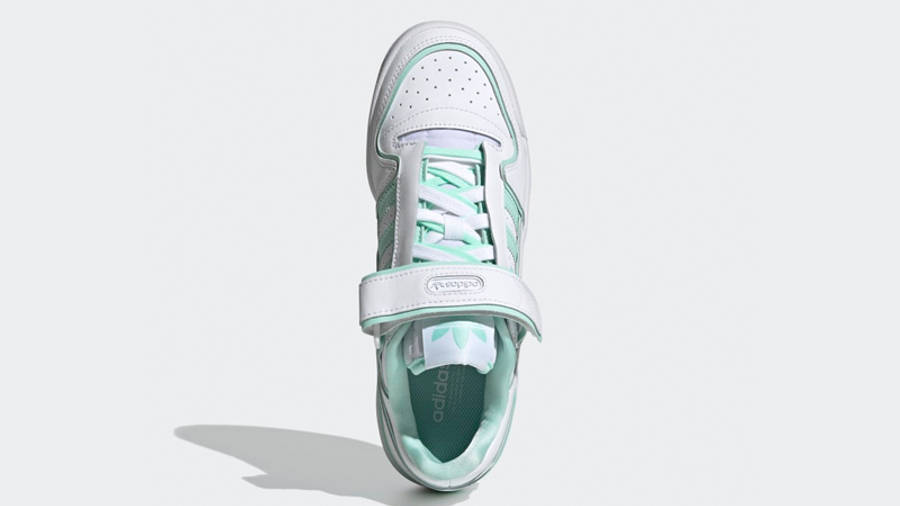 adidas Forum Plus White Clear Mint Middle