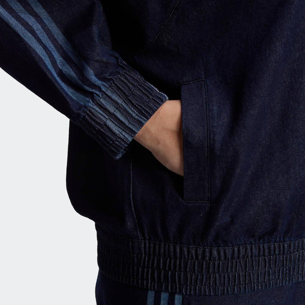 adidas Originals Japona Denim Track Top (Plus Size) Pocket