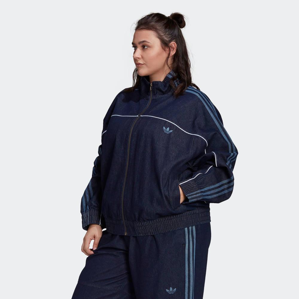 adidas Originals Japona Denim Track Top (Plus Size)