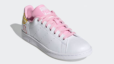 adidas Stan Smith White True Pink Front