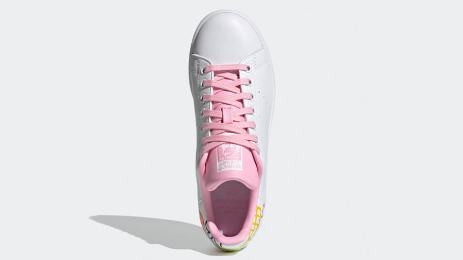 adidas Stan Smith White True Pink Middle
