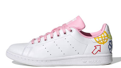 adidas Stan Smith White True Pink