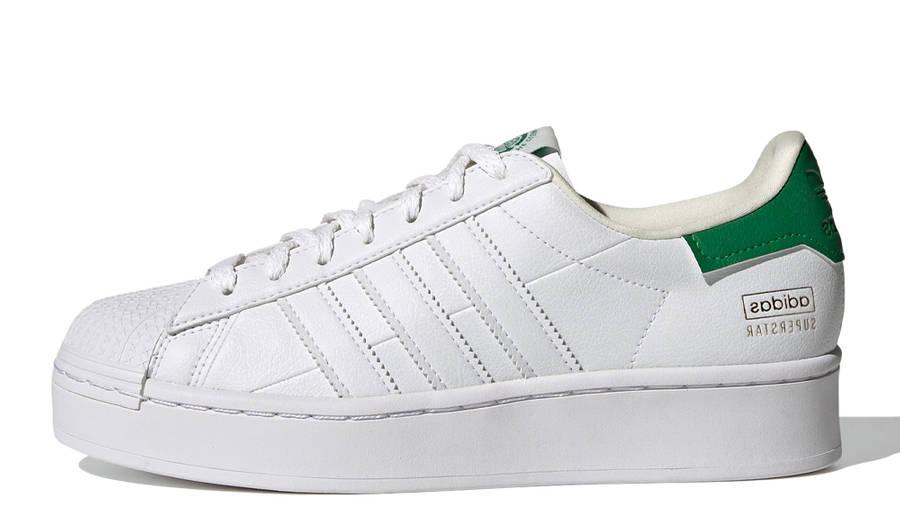 adidas Superstar Bold White Green